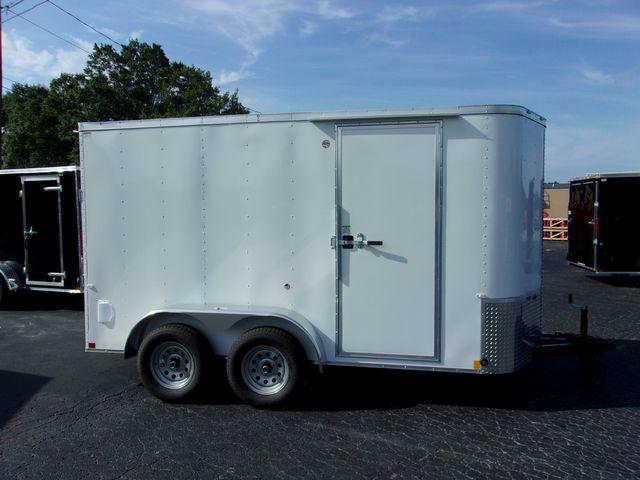 """2021 Cargo Craft Enclosed 6x12 6'6"""" Interior Height in Madison, Georgia 30650"""