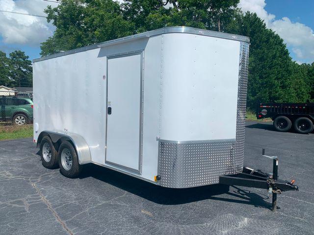 """2021 Cargo Craft Enclosed 7x14 6'6"""" Interior Height in Madison, Georgia 30650"""