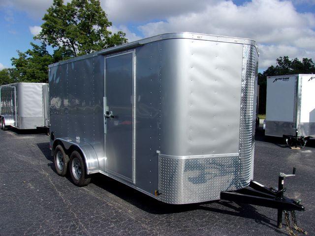 """2022 Cargo Craft Enclosed 7x14 6'6"""" Interior Height in Madison, Georgia 30650"""