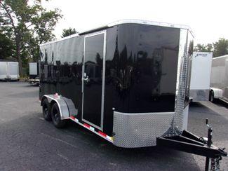 """2022 Cargo Craft Enclosed 7x16 5 Ton 6'6""""Interior Height in Madison, Georgia 30650"""