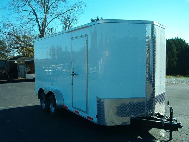 2021 Cargo Craft Enclosed 7x16 5 Ton 7' Interior Height
