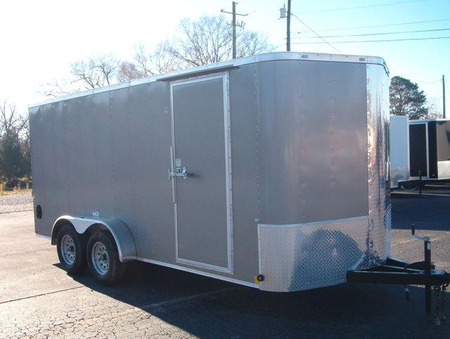 """2021 Cargo Craft Enclosed 7x16 6'6"""" Interior Height in Madison, Georgia 30650"""