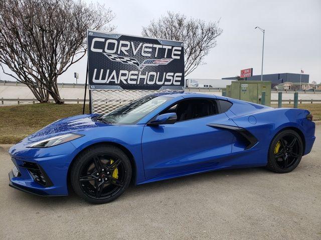 2021 Chevrolet Corvette Coupe IOS System, Black Alloys ,Only 836 Miles
