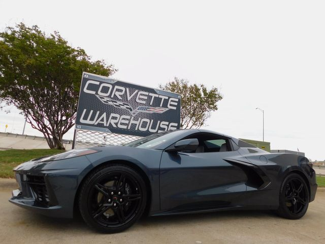 2021 Chevrolet Corvette Convertible 2LT, FE2, IOT NAV, Black Wheels 2k in Dallas, Texas 75220