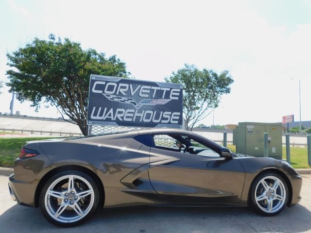 2021 Chevrolet Corvette Coupe 2LT, IOT, PDR, Alloy Wheels, Only 2k Miles in Dallas, Texas 75220