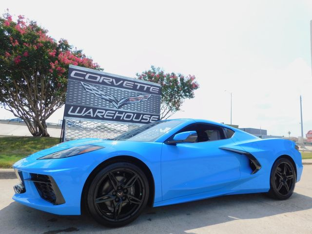 2021 Chevrolet Corvette Coupe Premium Mylink, IOS, Black Alloys, 32 Miles in Dallas, Texas 75220