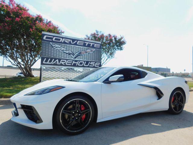 2021 Chevrolet Corvette Coupe Premium, IOS System, Black Alloys, Only 1k