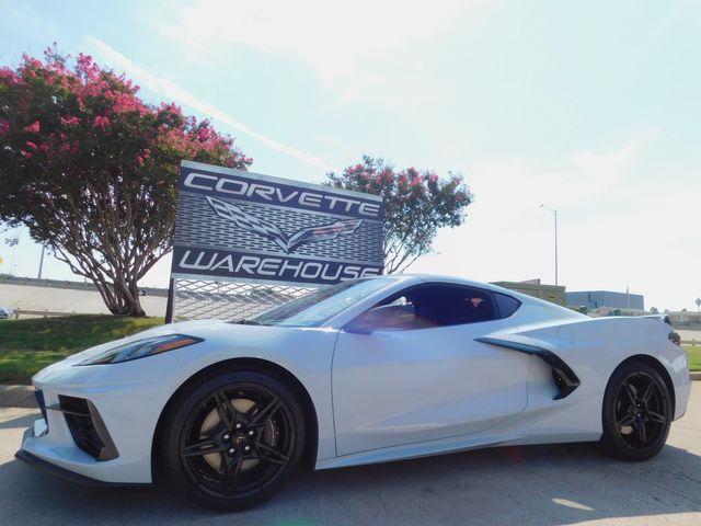 2021 Chevrolet Corvette Coupe 2LT, Z51, GT2, N26, IOT NAV, NPP, 356 Miles