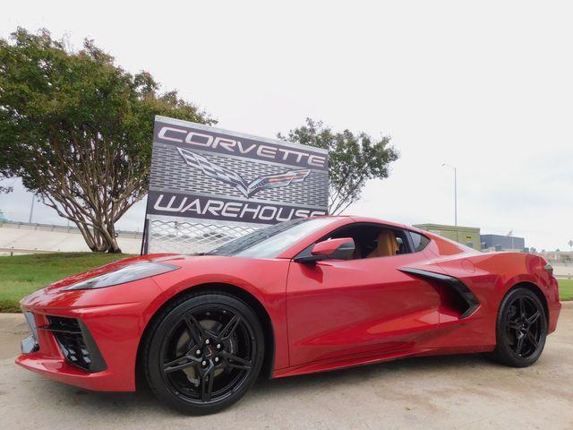 2021 Chevrolet Corvette Coupe 2LT, IOT, PDR, Black Wheels, Only 1k