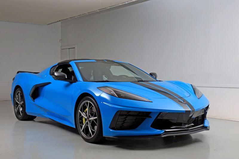 2021 Chevrolet Corvette 3LT* Rapid Blue* Z51 Performance* Carbon Fiber***   Plano, TX   Carrick's Autos in Plano TX