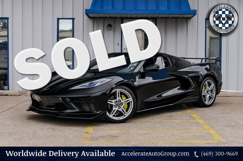 2021 Chevrolet Corvette 6.2L V8 490HP 1LT STINGRAY LIKE NEW ONLY 3355 MILE in Rowlett Texas