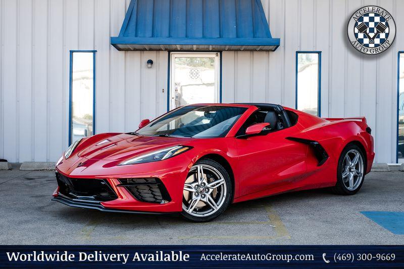 2021 Chevrolet Corvette 6.2L 490HP 3LT Stingray Z51 Performance PKG NICE! in Rowlett Texas