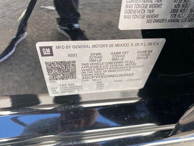 2021 Chevrolet Silverado 1500 LT Trail Boss Madison, NC 32