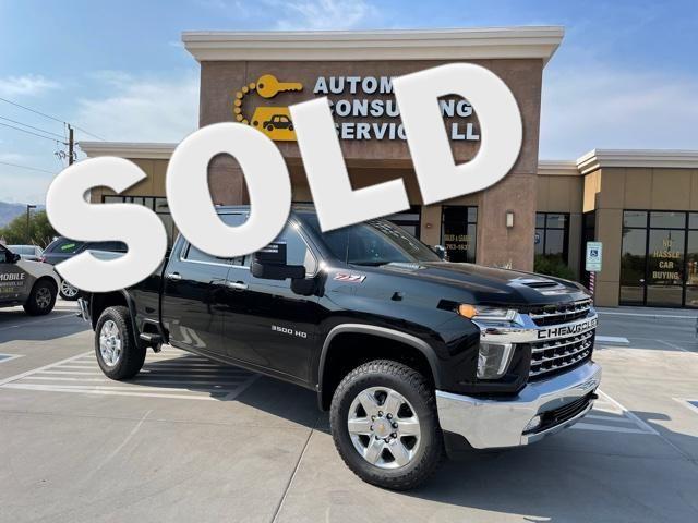 2021 Chevrolet Silverado 3500HD LTZ in Bullhead City, AZ 86442-6452