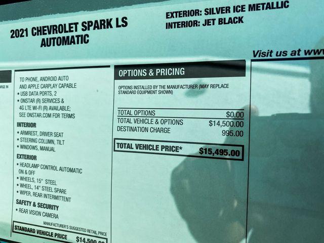 2021 Chevrolet Spark LS Madison, NC 11
