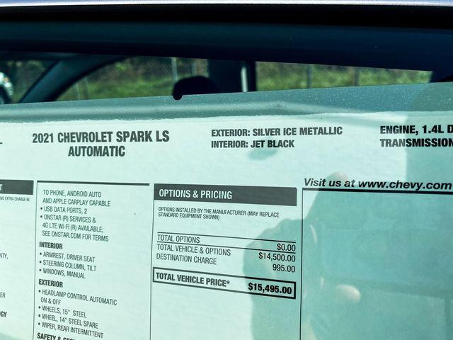 2021 Chevrolet Spark LS Madison, NC 12