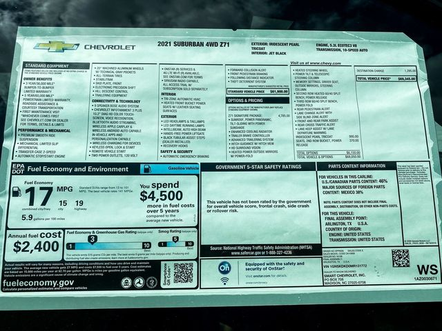 2021 Chevrolet Suburban Z71 Madison, NC 12