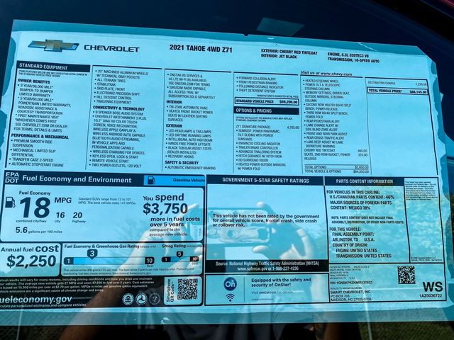 2021 Chevrolet Tahoe Z71 Madison, NC 11