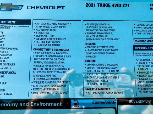 2021 Chevrolet Tahoe Z71 Madison, NC 13