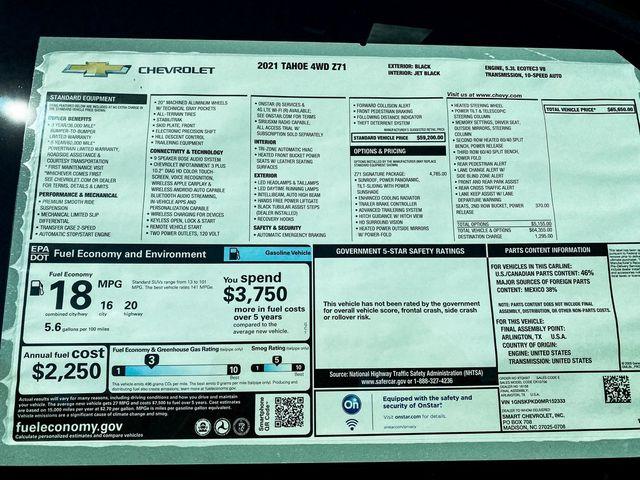 2021 Chevrolet Tahoe Z71 Madison, NC 10