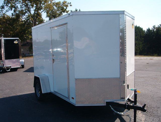 """2021 Covered Wagon Enclosed 6x10 6'3"""" Interior Height in Madison, Georgia 30650"""