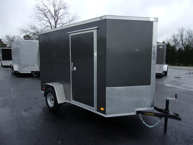 """2021 Covered Wagon Enclosed 6x10 6' 3"""" Interior Height"""