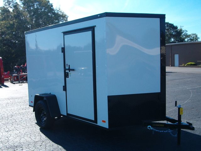 """2021 Covered Wagon Enclosed 6x10 6'3"""" Interior Height"""