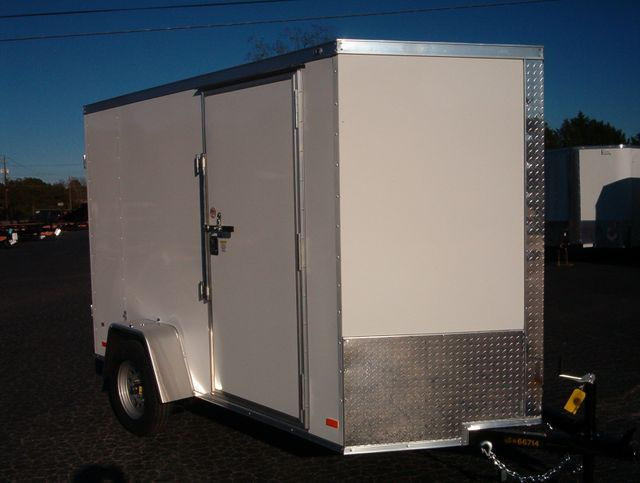 """2021 Covered Wagon Enclosed 6x10 6' 6"""" Interior Height"""
