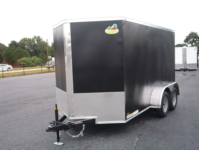 "2021 Covered Wagon Enclosed 6x12 6'3"" Interior Height in Madison, Georgia 30650"