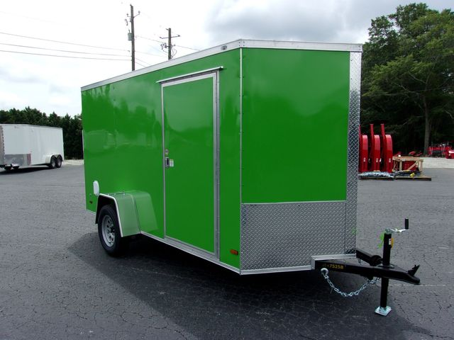 """2021 Covered Wagon Enclosed 6x12 6' 3"""" Interior Height in Madison, Georgia 30650"""
