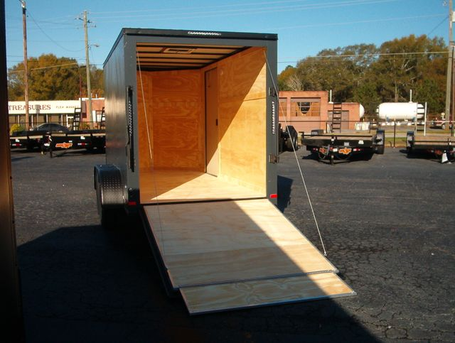 """2021 Covered Wagon Enclosed 6x12 6'6"""" Interior Height in Madison, Georgia 30650"""