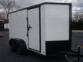 2021 Covered Wagon Enclosed 6x12 Barn Doors in Madison, Georgia 30650