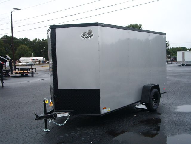 "2021 Covered Wagon Enclosed 6x12 6' 6"" Interior Height in Madison, Georgia 30650"