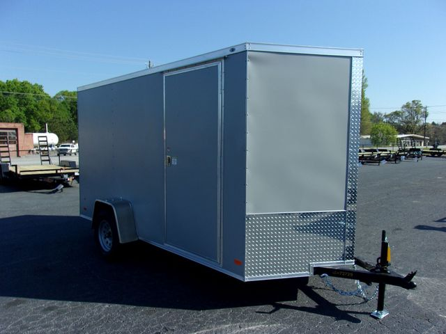 "2021 Covered Wagon Enclosed 6x12 6' 6"" Interior Height"