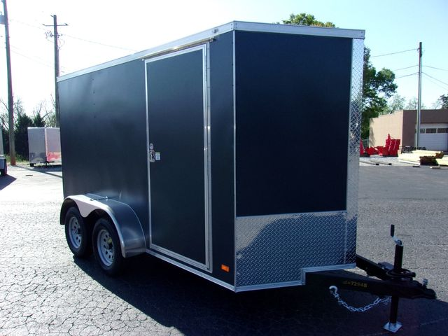 """2021 Covered Wagon Enclosed 6x12 6' 6"""" Interior Height in Madison, Georgia 30650"""