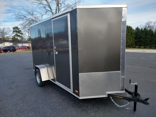"""2021 Covered Wagon Enclosed 6x12 6' 6"""" Interior Height"""