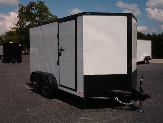 """2021 Covered Wagon Enclosed 7x12 6'6"""" Interior Height"""