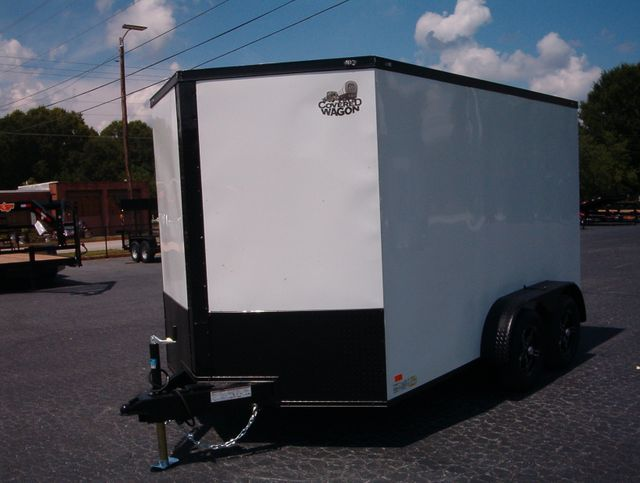 """2021 Covered Wagon Enclosed 7x12 6'6"""" Interior Height in Madison, Georgia 30650"""