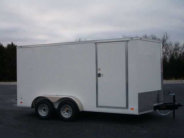 "2021 Covered Wagon Enclosed 7x14 6'6""Interior Height in Madison, Georgia 30650"
