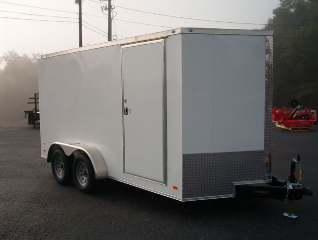"""2021 Covered Wagon Enclosed 7x14 6' 6"""" Interior Height in Madison, Georgia 30650"""