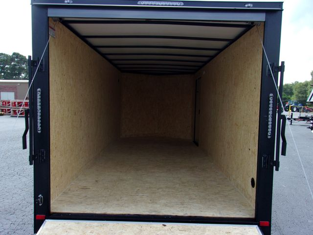 """2021 Covered Wagon Enclosed 7x16 6'3"""" Interior Height in Madison, Georgia 30650"""