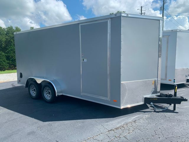 """2021 Covered Wagon Enclosed 7x16 6'6"""" Interior Height in Madison, Georgia 30650"""