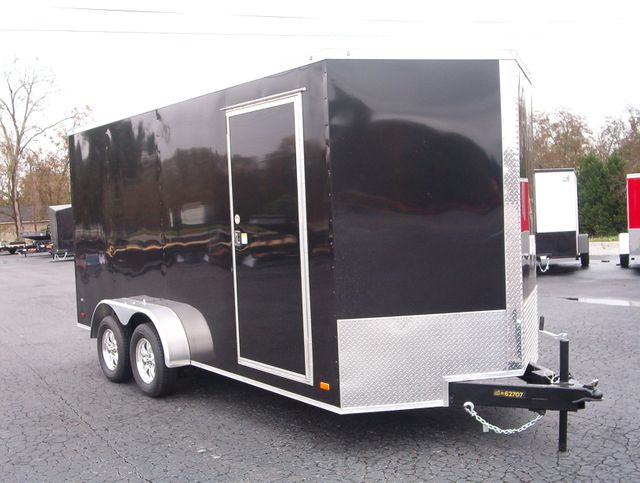 2021 Covered Wagon Enclosed 7x16 7 Ft