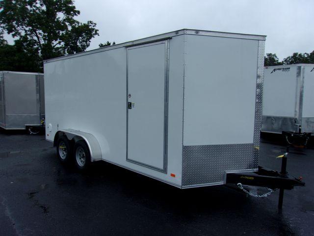 2022 Covered Wagon Enclosed 7x16 Barn Doors
