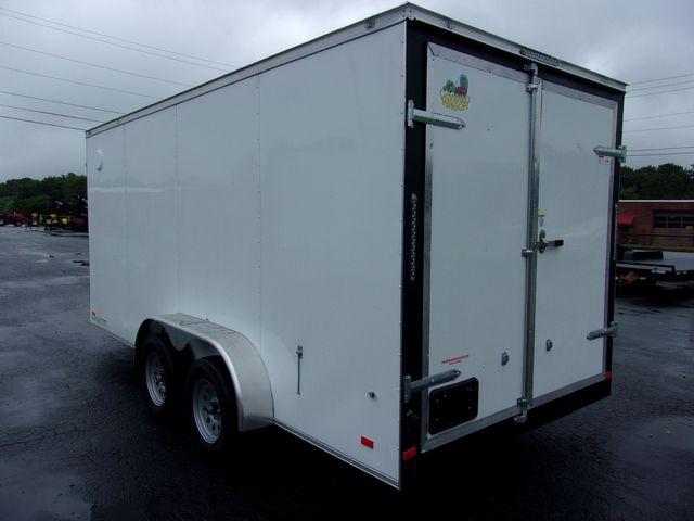 2022 Covered Wagon Enclosed 7x16 Barn Doors in Madison, Georgia 30650