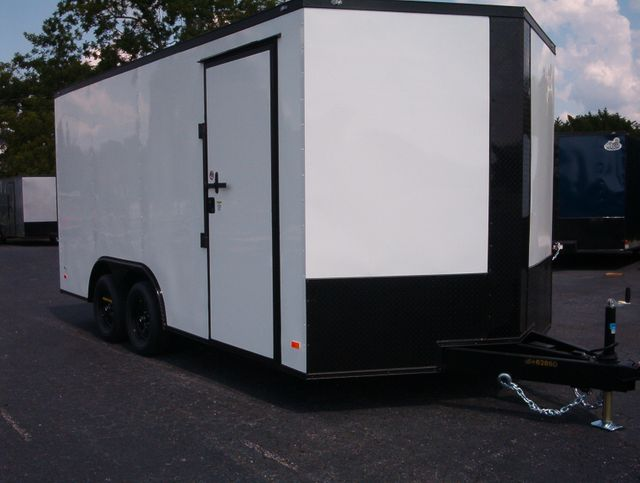 2021 Covered Wagon Enclosed 8 1/2x16 5 7 Ft Interior Height in Madison, Georgia 30650