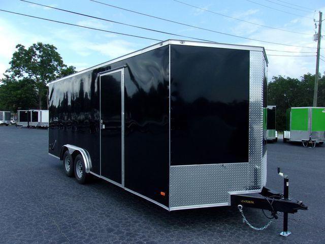 2021 Covered Wagon Enclosed 8 1/2x20 5 Ton 7 Ft Barn Doors