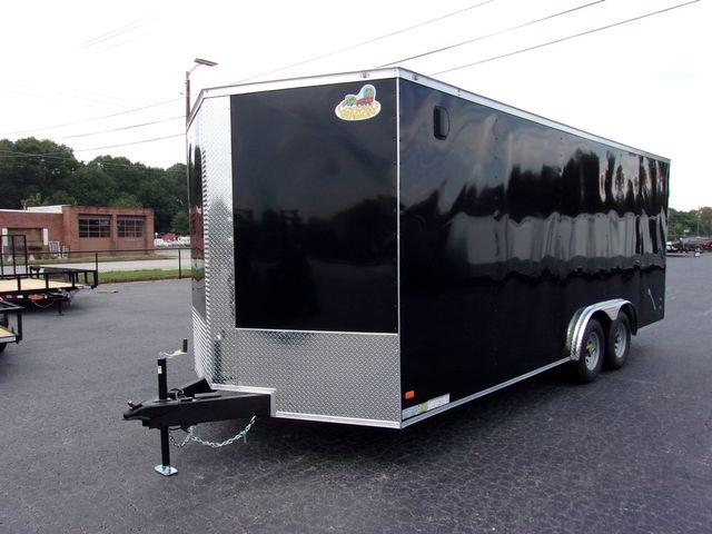 2021 Covered Wagon Enclosed 8 1/2x20 5 Ton 7 Ft Barn Doors in Madison, Georgia 30650