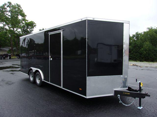 2021 Covered Wagon Enclosed 8 1/2x20 5Ton Barn Doors