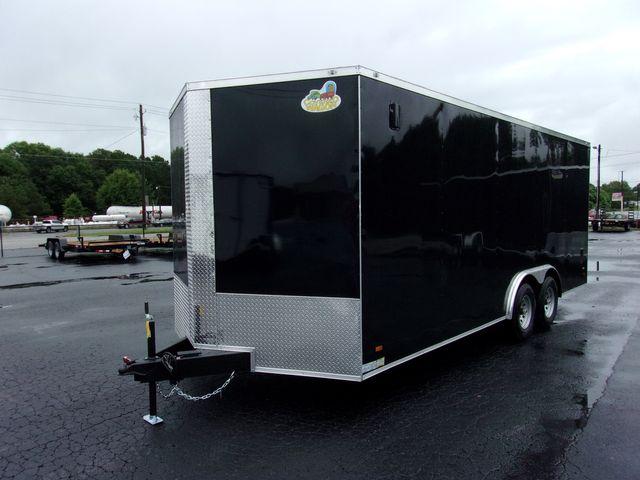 2021 Covered Wagon Enclosed 8 1/2x20 5Ton Barn Doors in Madison, Georgia 30650